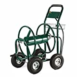 300FT Heavy Duty Yard Water Planting Garden Water Hose Reel Cart Outdoor For Garden Hose Untangled