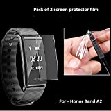 Iloft Screen Scratch Guard Protector Film for Honor Band A2 only - (Pack of 2)