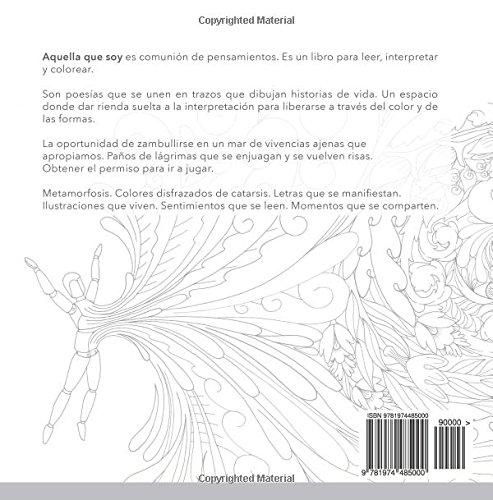 Aquella que soy: Un libro para leer, interpretar y colorear (Spanish ...