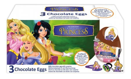 Storybook 3 Piece Costumes (CHOCOLATE EGGS 3-PACK FAIRYTALE PRINCESS)