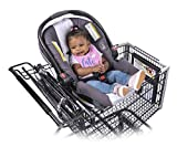 Totes Babies | Car Seat Carrier | Fits Most Shopping Carts | Holds All Car Seat Models | Shopping with Babies Made Simple | Meets All CPSC Safety Standards | Hammock Style Design