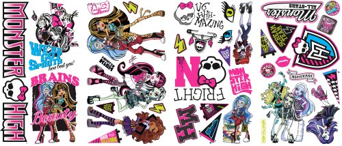 Roommates-Rmk2190Scs-Monster-High-Peel-And-Stick-Wall-Decals