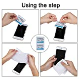 Pre-Moistened Lens Wipes ALIBEISS Screen Wipes