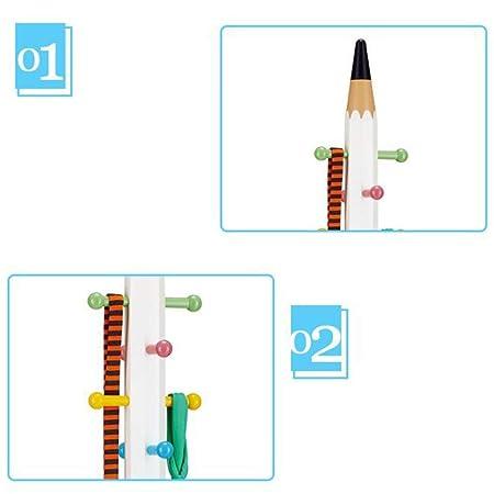 MTG Perchero de pie Diseño de lápiz de madera independiente ...