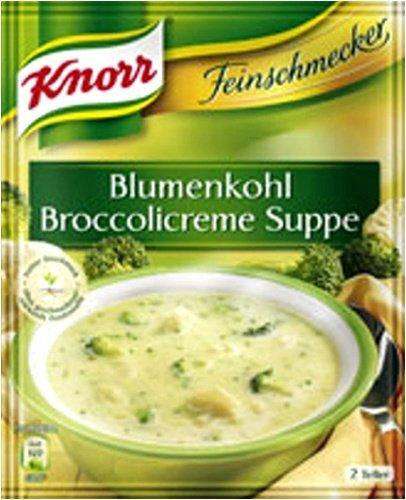 cream of broccoli soup - 9