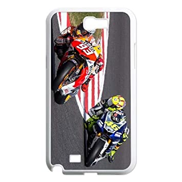 Samsung Galaxy Note 2 N7100 Cell phone Case Cover Marc Marquez ...