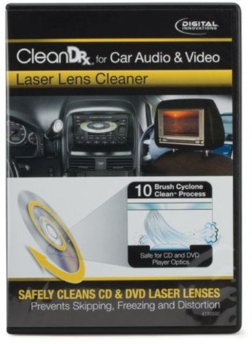 Disc Player Cd Cleaning (Digital Innovations CleanDr for Car Audio & Video Laser Lens Cleaner 4190500)
