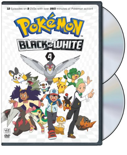 Pokémon Black & White 4 (Black And White Tv Set)