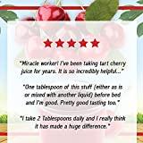 Dynamic Health Organic Tart Cherry Juice Concentrate | USDA Certified & 100% Pure | 16 Servings