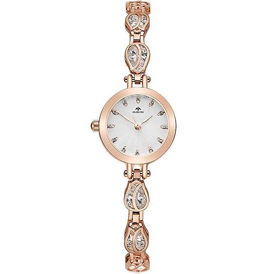 Reloj de pulsera para mujer Reloj Tendencias de moda para mujer Relojes de mujer Niñas a prueba de agua Atmósfera informal: Amazon.es: Relojes