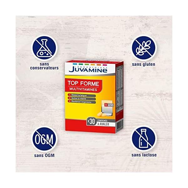 JUVAMINE – TOP FORME MULTIVITAMINES, 30 comprimés à avaler