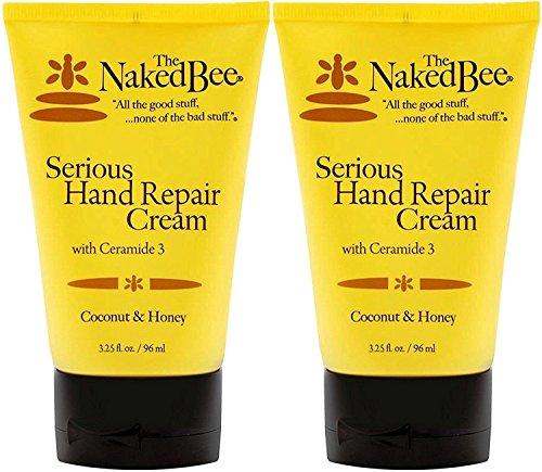 The Naked Bee Serious Hand Repair Cream Lotion Coconut & Honey - 2 - Repair Bees