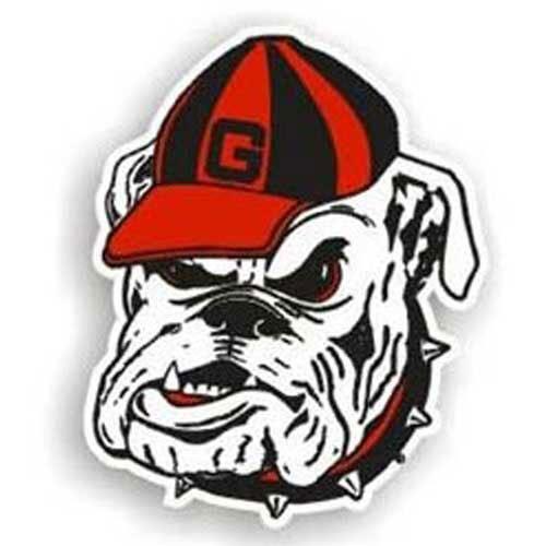 - Georgia Bulldogs Ncaa 12 Car Magnet