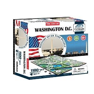 4d Washington Dc Cityscape Time Puzzle