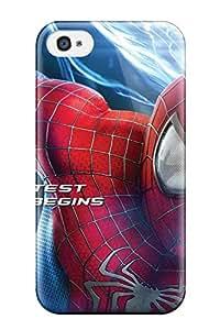 Nancy Martinez Iphone 4/4s Hybrid Tpu Case Cover Silicon Bumper The Amazing Spider-man 40