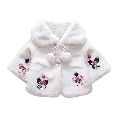 ❤ Tefamore Abrigos Bebe Niña Niño, Recién Nacido Chaqueta Cálido Peludo Abrigos de Algodón Otoño Invierno Ropa Bebé: Amazon.es: Ropa y accesorios