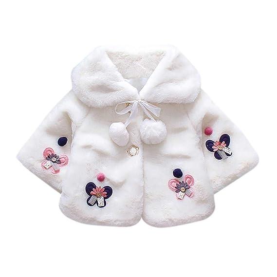 Ropa de Chaquetas y Abrigos, ❤ Zolimx Bebé Infantil Niñas Otoño Invierno Abrigo Capa Chaqueta Gruesa Ropa Caliente de Newborn Baby Clothes: Amazon.es: ...