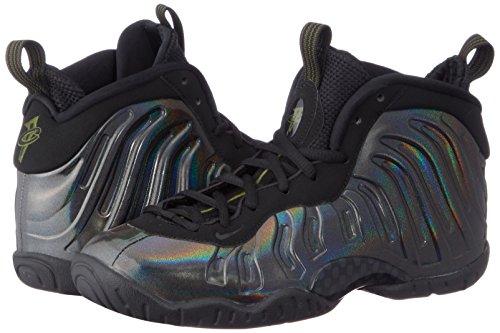 Nike Little Posite One (GS) 644791-301 Legion Green/Black Kids Shoes (6Y) by Nike (Image #5)