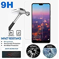 Jaorty Huawei P20 Pro Screen Protector, Jaorty 2-Pack [3D Touch Compatible] Tempered Glass Screen Protector Film Huawei P20 Pro
