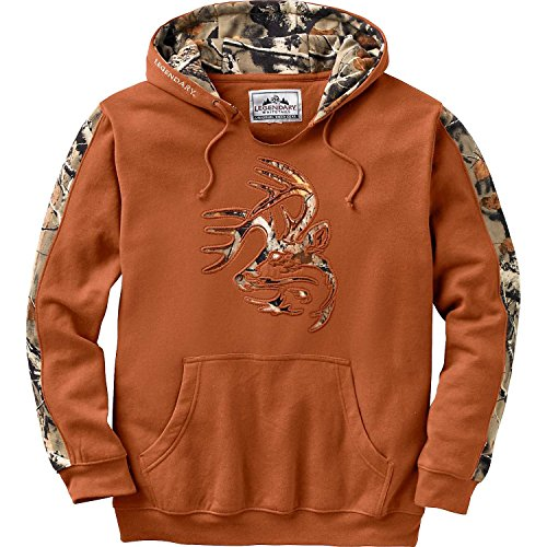 Legendary Whitetails Mens Outfitter Hoodie Canyon Large