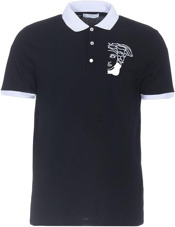 Versace Collection V800604S V5J300 V000 Camisa polo Negro Black ...