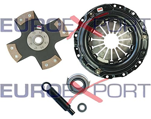 Honda Acura B16 B18 B20 Stage 5 Clutch Kit 4 Pad Solid Competition Clutch 8026-0420