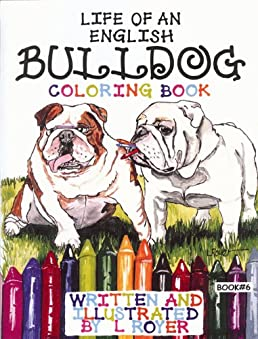 pug pals coloring book 6 life of an english bulldog pug pals