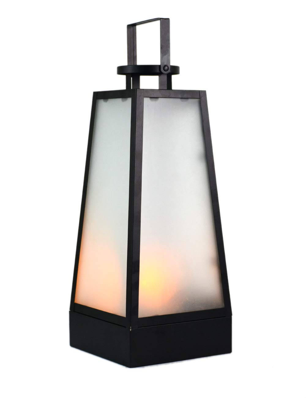 Amazon Com Homeberry 16 Battery Operated Flame Effect Lantern