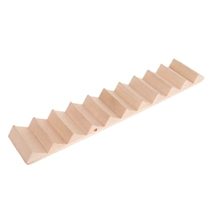 Homyl 1/12 Scale Wooden 11 Steps Stair Staircase DIY Accessories For Dolls  House