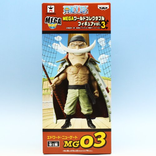 Vol.3 white beard one piece MEGA World Collectable Figure (japan import)