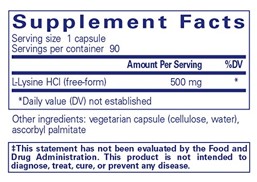 Pure-Encapsulations-l-Lysine-Hypoallergenic-Supplement-Helps-Maintain-Healthy-Arginine-Levels-and-Immune-Function-90-Capsules