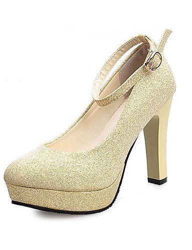 Casual Tac¨®n 5 cn40 Oro 5 5 red cn40 Rojo PU Blanco eu39 5 eu39 Tacones us7 mujer golden us8 Negro uk6 eu38 us8 5 golden ZQ de Stiletto 5 cn38 uk5 uk6 Tacones Zapatos q70xtwU
