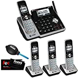 AT&T (TL88102) Dect 6.0 1-Handset 2-Line Landline Telephone Bundle with 3 Handsets and Dual Caller ID/Call Waiting