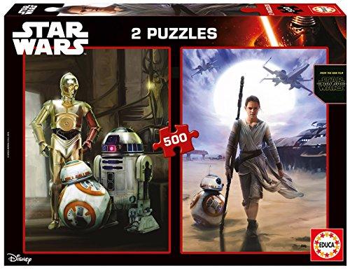 Star-Wars-2-puzzles-ep-VII-El-Despertar-de-la-Fuerza-500-piezas-Educa-Borrs-165230
