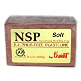 Chavant Clay - NSP Soft Brown - Sculpting and Modeling Clay (40lb Case)