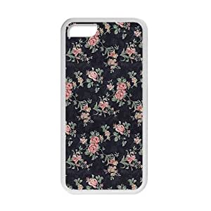 glam red flowers personalized high quality cell phone Iphone 6Plus 5.5Inch