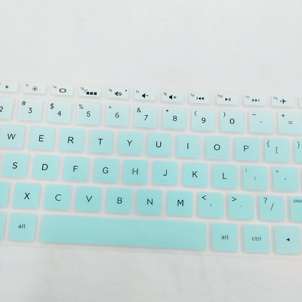 Azul Non-brand Cubierta De La Piel del Teclado De Escritorio De Silicona para HP 15.6 Pulgadas BF Port/átil