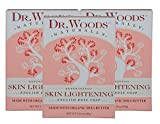 Dr. Woods Skin Lightening English Rose Bar Soap with Organic Shea Butter, 5.25 Ounce (Pack of 3)