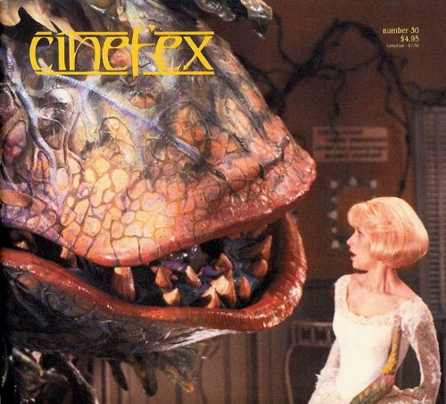 CINEFEX #30 (May 1987) : Little Shop of Horrors, The Gate; The Golden Child