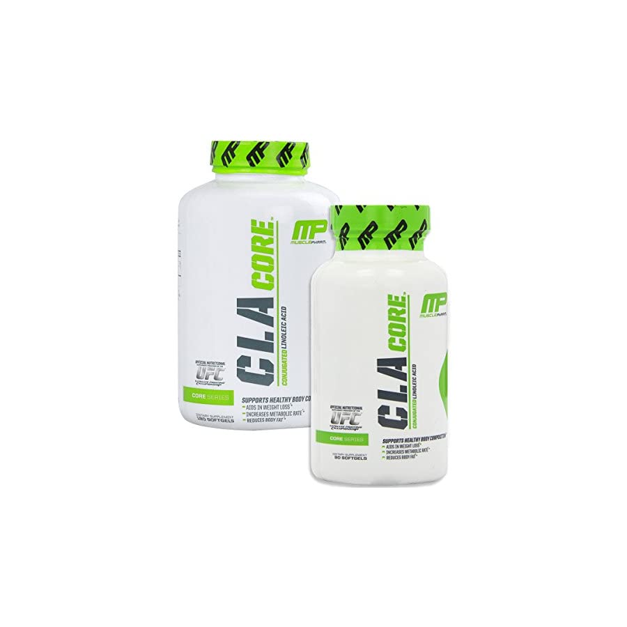 MusclePharm CLA Core Diet Supplement, Unflavored