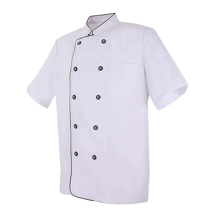 319b18b5381 MISEMIYA - Chaquetas Chef Cocinero con BOTÓN REFORMADO MARMINTÓN SOLLASTRE  GUISANDERO ADOBADOR Salsero - Ref.8421B: Amazon.es: Ropa y accesorios