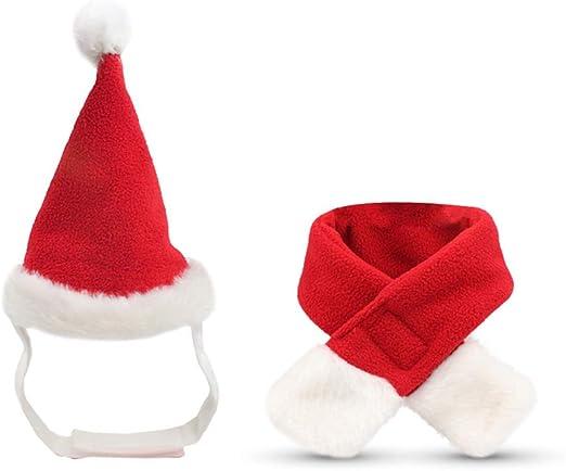 kinnter Sombrero para Mascotas de niña, Disfraz, Navidad, Perro ...