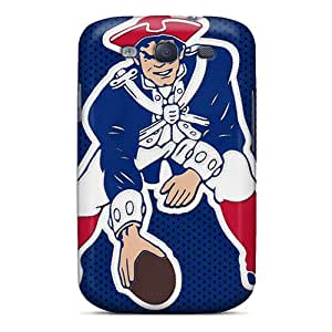 Hot Style LuA8430lTdS Protective Case Cover For Galaxys3(new England Patriots)