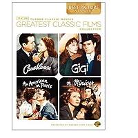 La mejor colección de películas clásicas de TCM: ganadores de las mejores películas (Casablanca /Gigi /An American in Paris /Mrs. Miniver)
