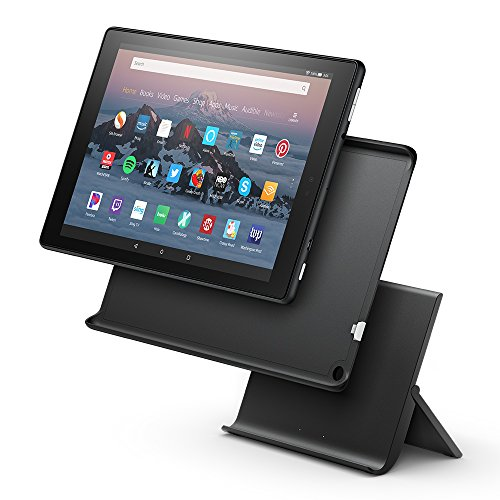 Show Mode Charging Dock for Fire HD 10 (Compatible with 7th Generation Tablet - 2017 Release) (Kindle Voice Off Turn)