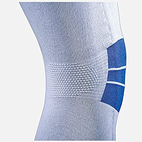 fa23383a62 Amazon.com: Heaven® Helper Knee Brace Support with Titanium Inserts - Blue  with grey and super handy to have when you need real, but comfortable  support.