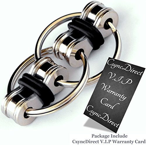 Flippy Chain Fidget Toy Relieve Your Stress - For ADD, ADHD, Anxiety, and Autism and Perfect at Workplace or School and no Noise CsyncDirect - 5