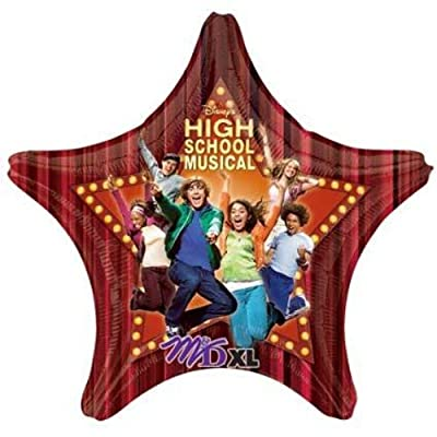 32 Inch High School Musical --Star-- Super Shape Balloon - Each: Toys & Games