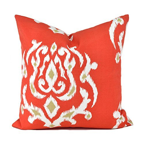 Outdoor Decorative Throw Pillow Cover Any Size OD Pamilla coral