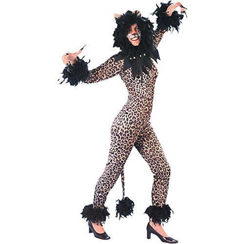 [Adult Leopard Cats Musical Halloween Costume (Size: 16)] (Cats Musical Halloween Costumes)